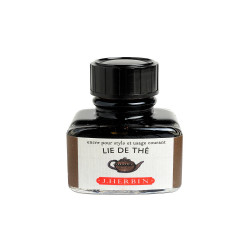 Flacon d'encre J. Herbin® Lie de Thé 30 ml