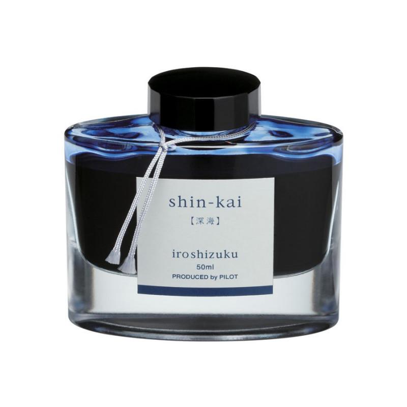 Encrier Iroshizuku Pilot® Bleu Shin-Kai 50 ml
