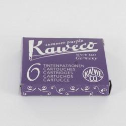 Cartouches KAWECO® Summer Purple - Boite de 6