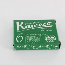 Cartouches KAWECO® Palm Green - Boite de 6