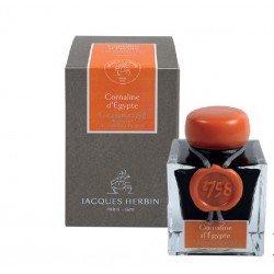 Flacon d'encre Cornaline d'Egypte 50 ml 1798 J. Herbin®
