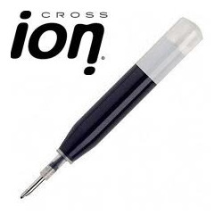 "Lot de 5 recharges ROLLERS ""Ion"" Cross® NOIRES"