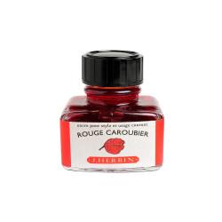 Flacon d'encre Rouge Caroubier 30ml J. Herbin®
