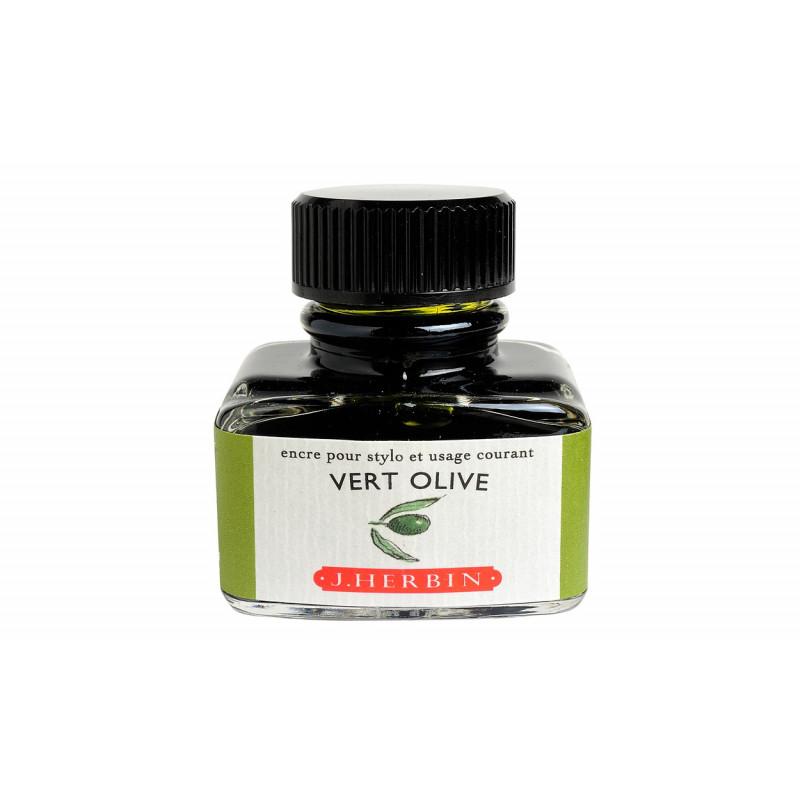 Flacon d'encre J. Herbin® Vert Olive 30 ml