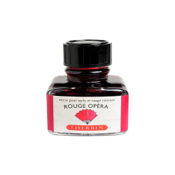 Flacon d'encre J. Herbin® Rouge Opéra 30 ml