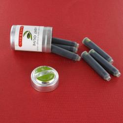 Cartouches Vert Olive boite de 6 Herbin®