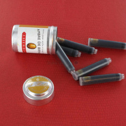Cartouches Ambre de Birmanie boite de 6 Herbin®