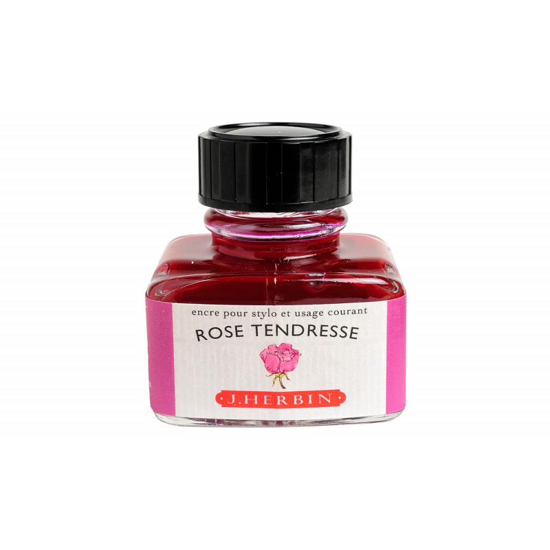Flacon d'encre J. Herbin® Rose Tendresse 30 ml