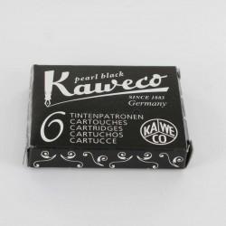 Cartouches KAWECO® Pearl Black - Boite de 6