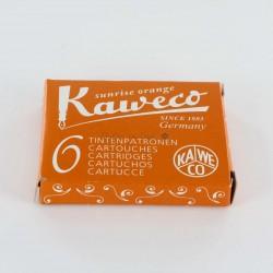Cartouches KAWECO® Sunrise Orange - Boite de 6