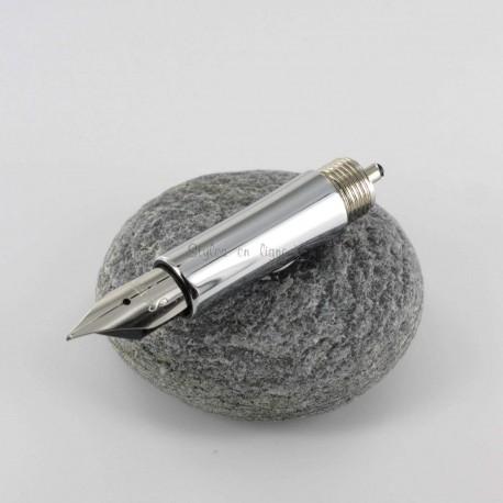 Bloc Plume Sheaffer® (Moyen) Acier Intensity®