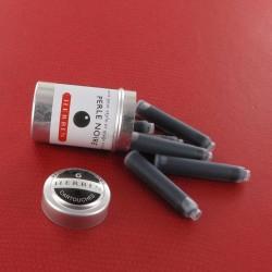 Cartouches Perle Noire boite de 6 Herbin®