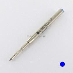 Lot de 12 Recharges BILLE BLEUE MOYENNE 0,7 mm (recharges génériques/compatibles) pour stylos MB.