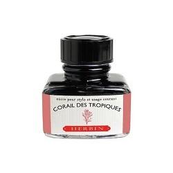 Flacon d'encre Corail des Tropiques 30 ml J. Herbin®