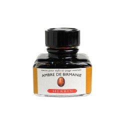 Flacon d'encre Ambre de Birmanie 30 ml J. Herbin®