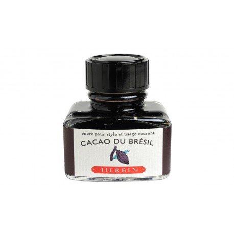 Flacon d'encre Cacao de Brésil 30 ml J. Herbin®