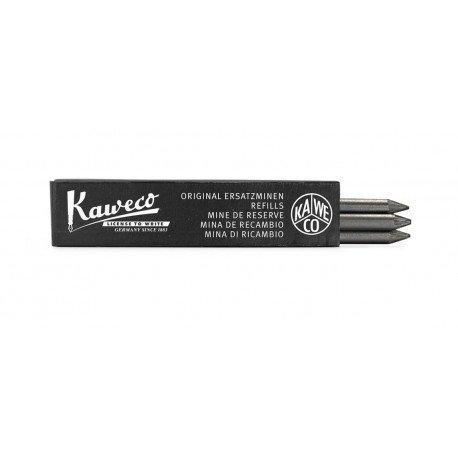 Recharges 3 Mines Kaweco (5,6 mm) pour portemine