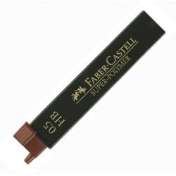Recharge mine 0,5 mm HB de chez FABER-CASTELL